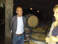 Among the barrels