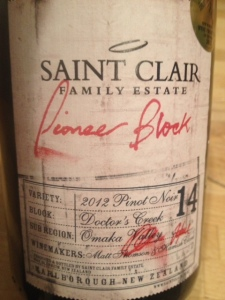 St Clair Pinot