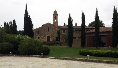 Montalcino Pieve santa restituta